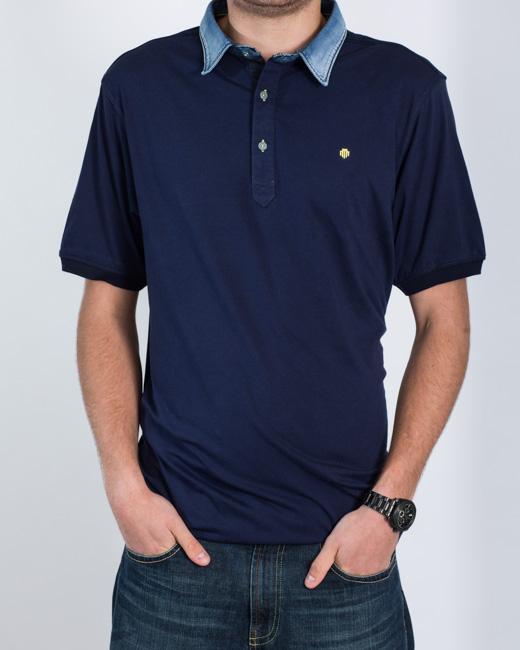 Mish Mash North Polo Shirt (navy)