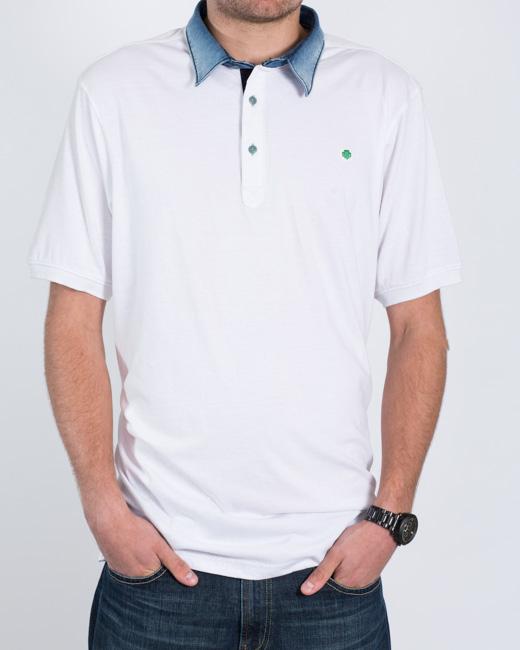 Mish Mash North Polo Shirt (white)