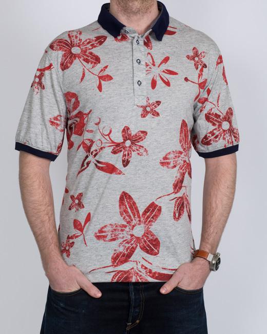 Mish Mash Peroni Tall Polo Shirt (red)
