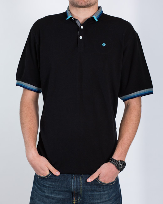 Mish Mash Warden Polo Shirt (black)