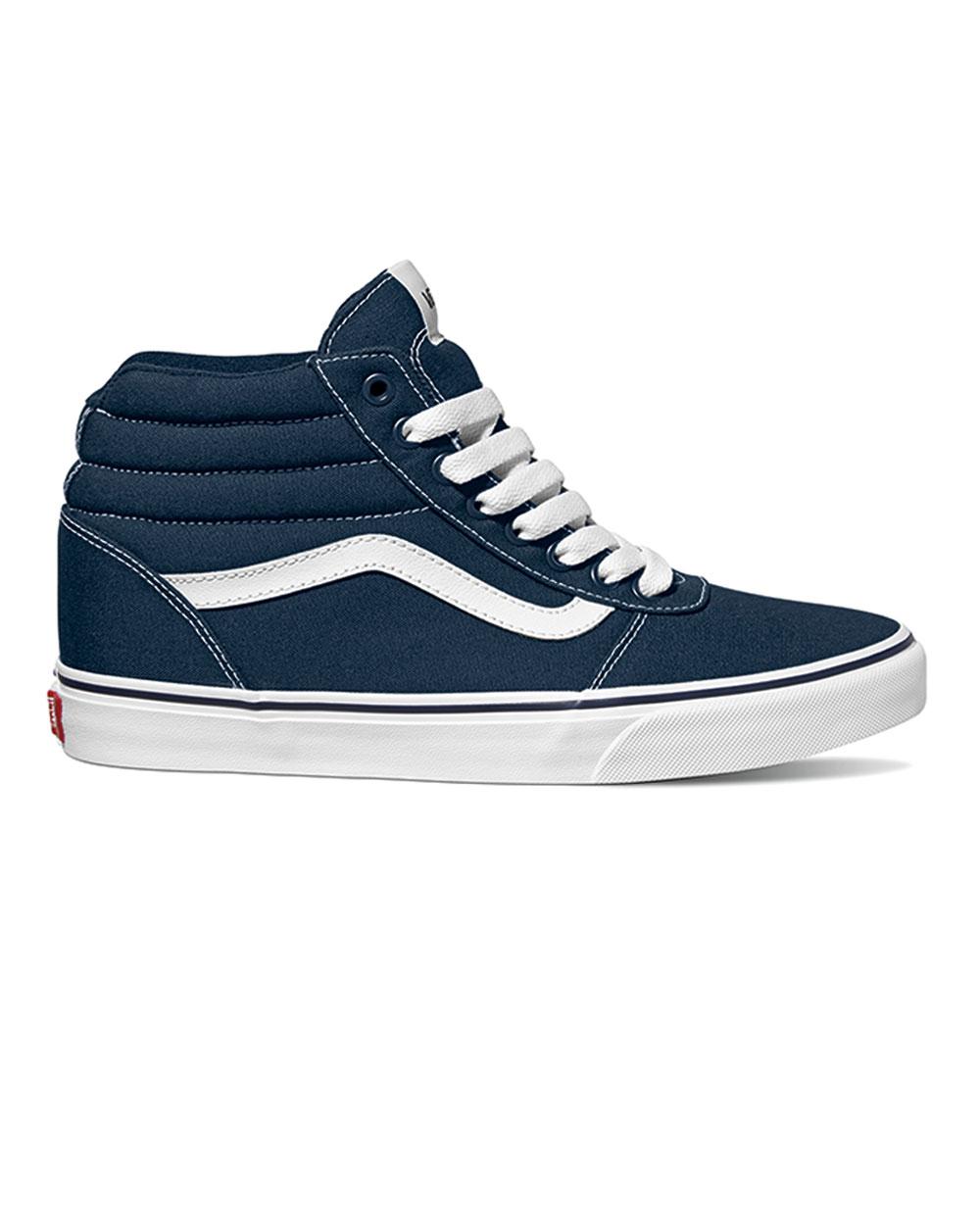 Vans Canvas Ward Hi (dress blue/white