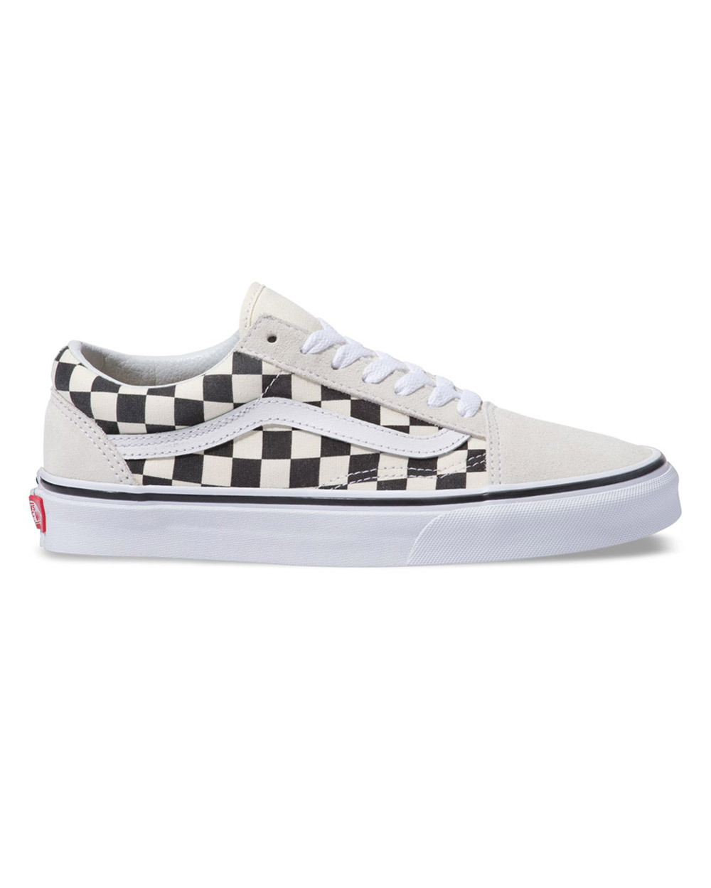 Vans Old Skool Checkerboard (white