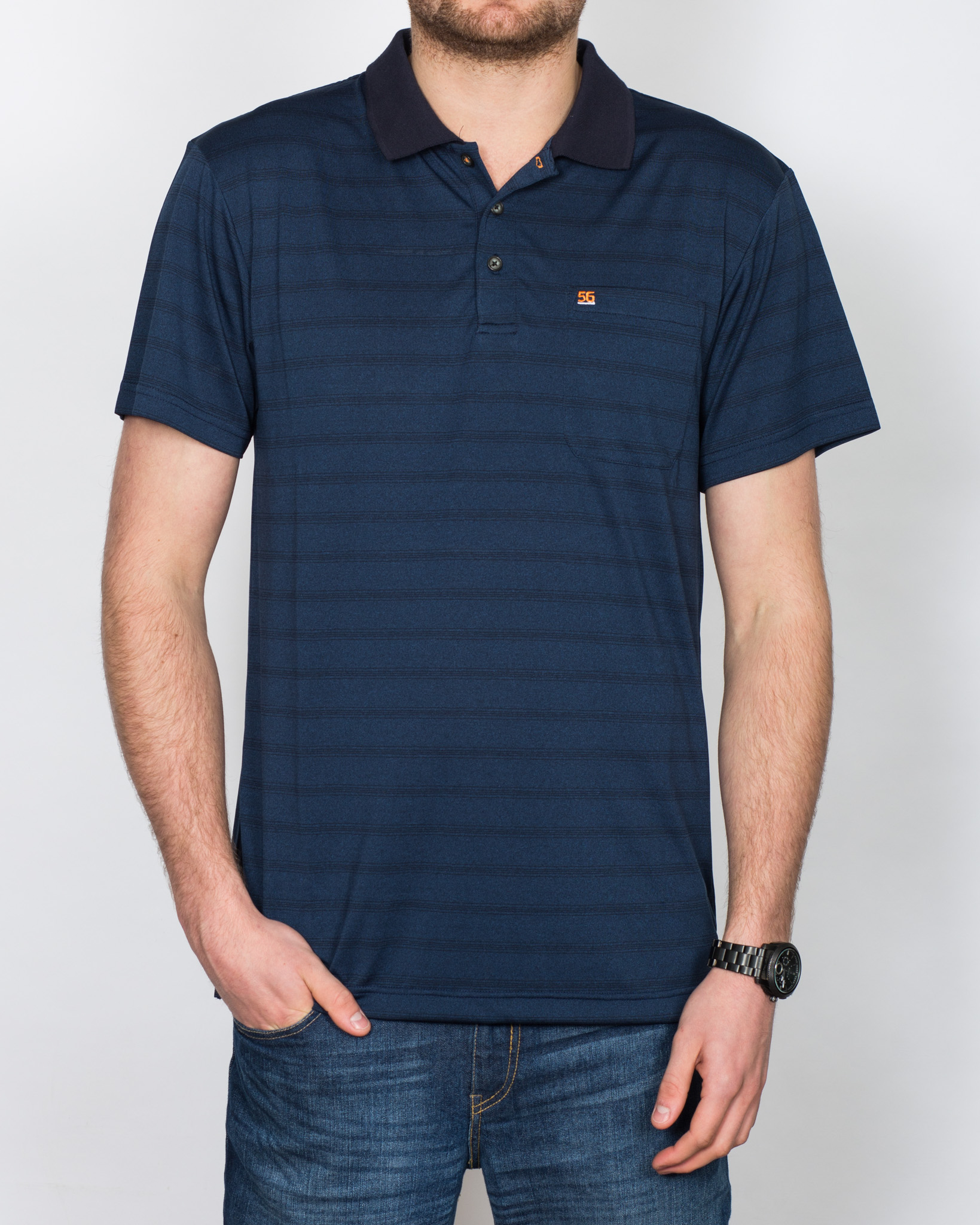 North 56 Cool Effect Tall Polo Shirt (navy)