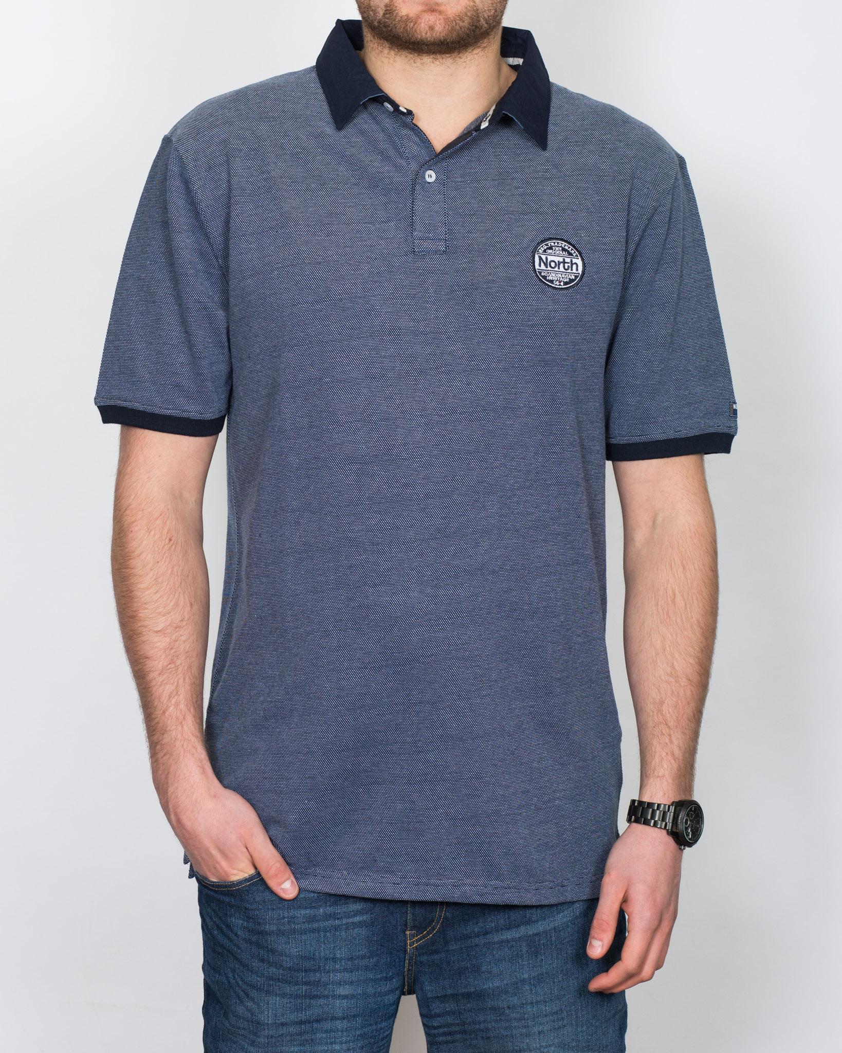 North 56 Tall Polo Shirt (denim)
