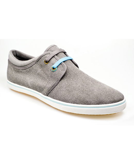 Pod Pontoon Canvas Shoe (charcoal)