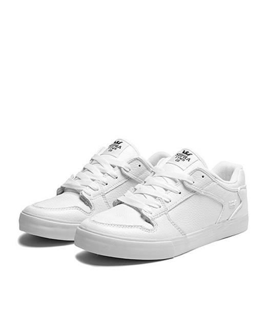 Supra Vaider Low (white-white)
