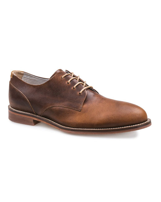 J Shoes William Leather Derby (clyde brass)