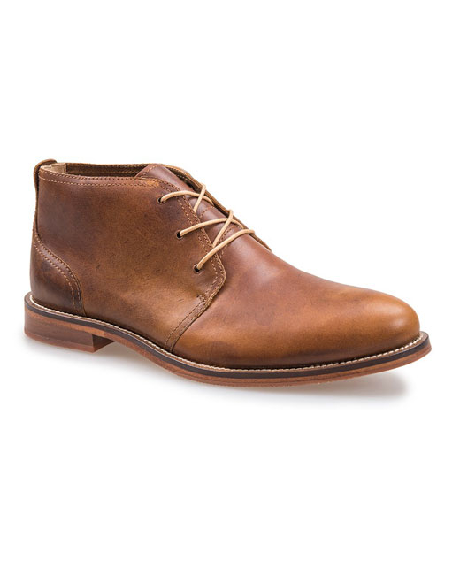 J Shoes Monarch Plus Leather Chukka (clyde brass)