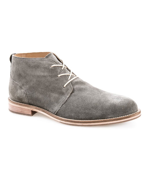 J Shoes Monarch Plus Suede Chukka (drizzle grey)