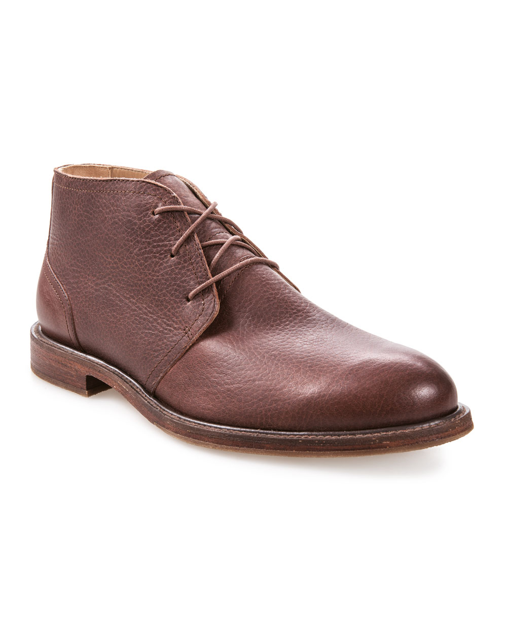 J Shoes Monarch Plus Leather Chukka (cow leather ambra)