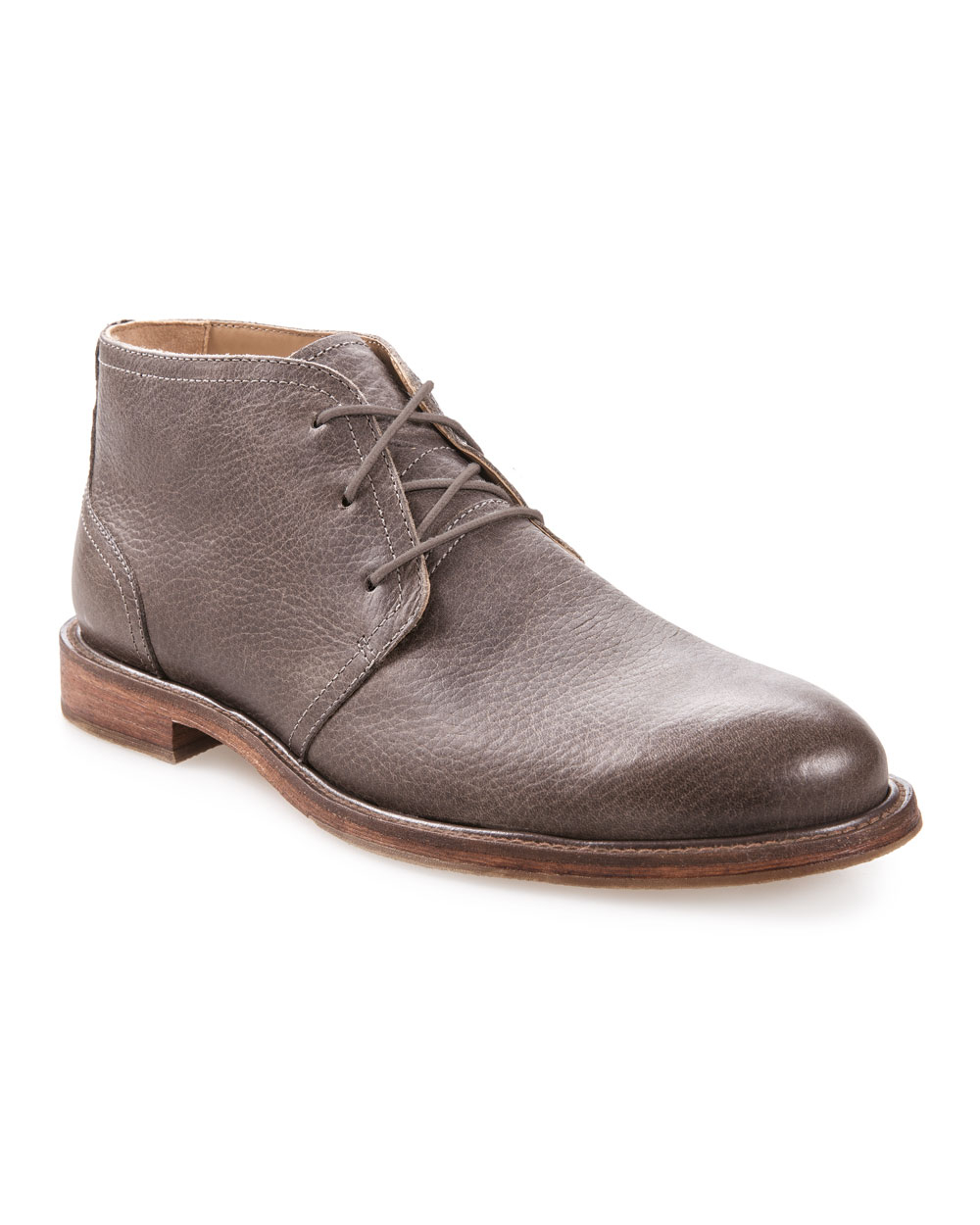 J Shoes Monarch Plus Leather Chukka (cow leather paloma)