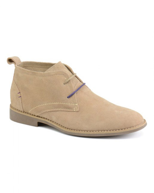 Front Roscoe Suede Desert Boot (sand)