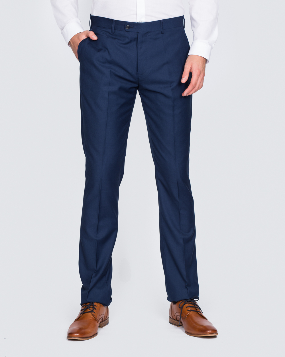 Skopes Slim Fit Tall Suit Trousers (royale blue)