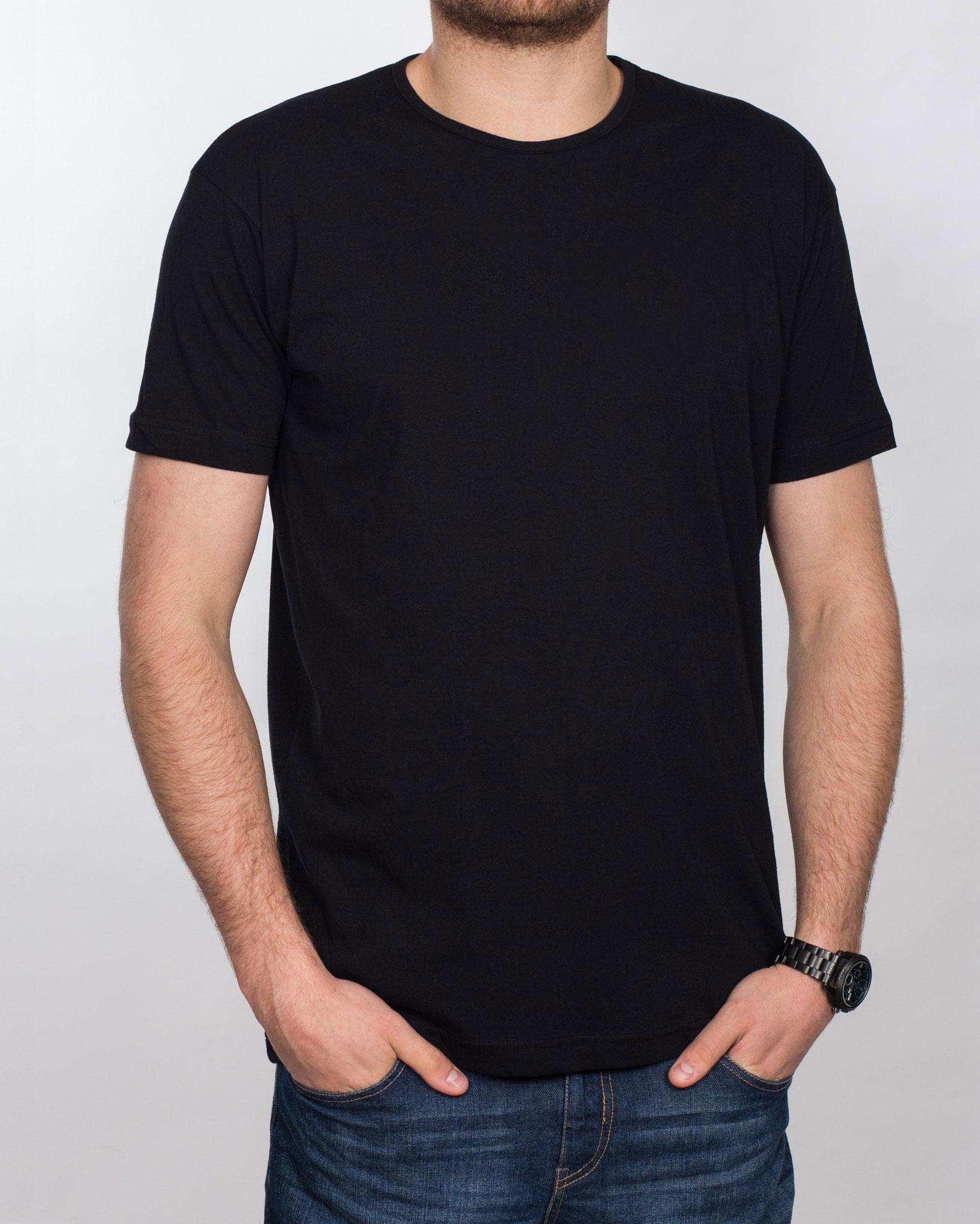 2t Tall T-Shirt (plain black)