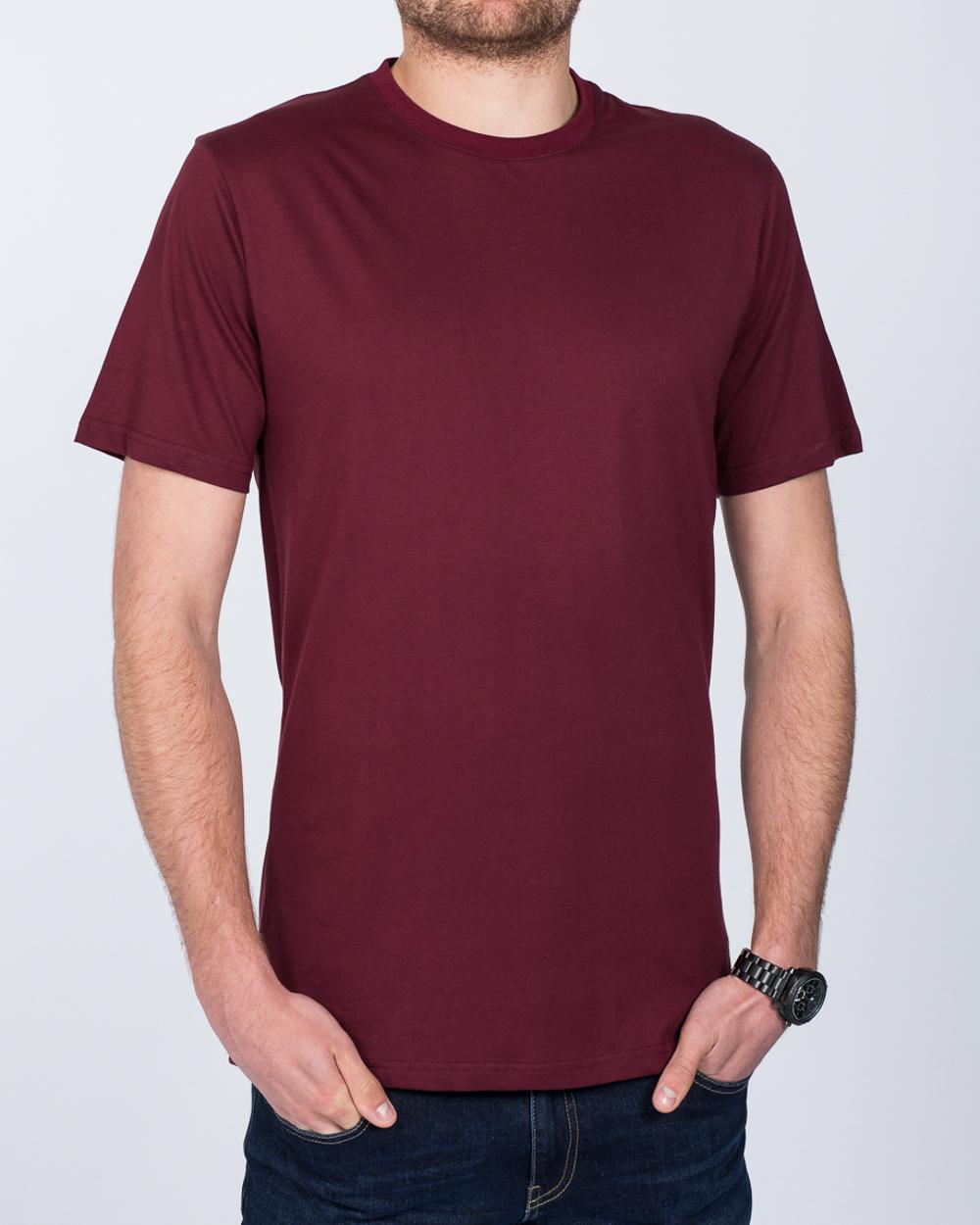 2t Tall T-Shirt (burgundy)