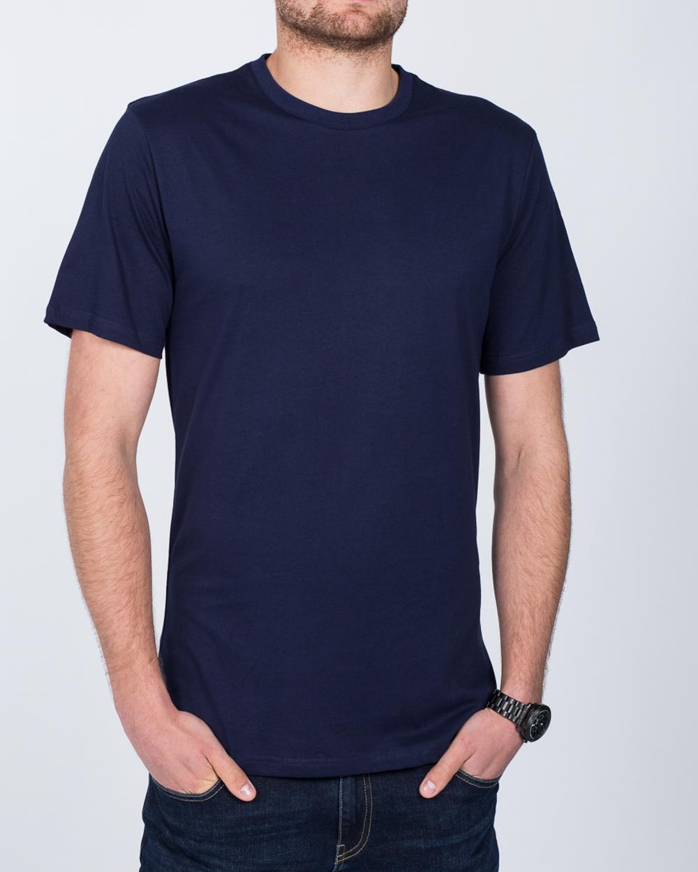 2t Tall T-Shirt (navy blue)