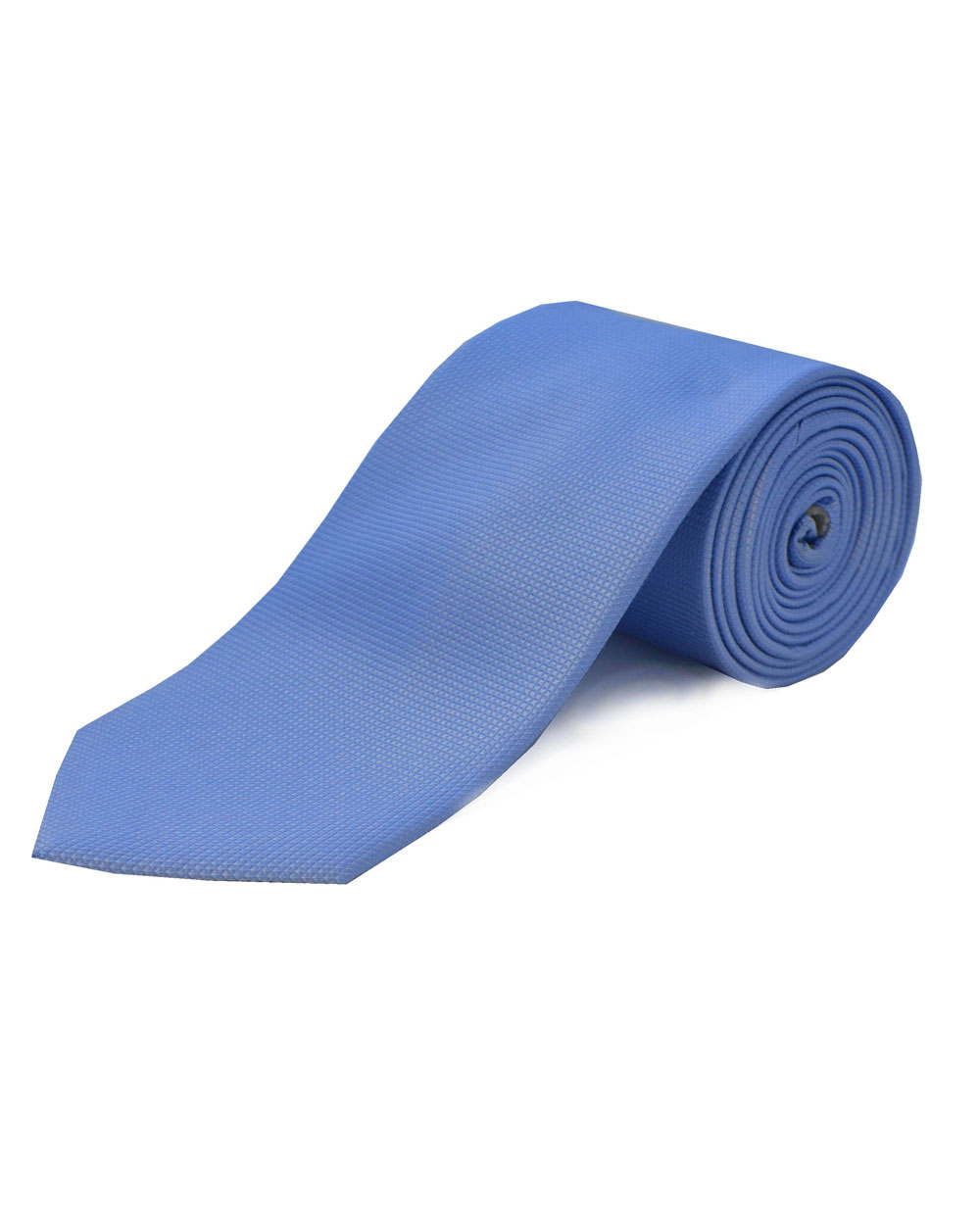 Double Two Silk Extra Long Tie (sky)