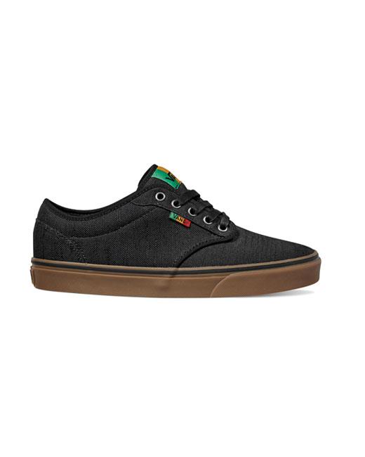 Vans Atwood Rasta (black/gum)