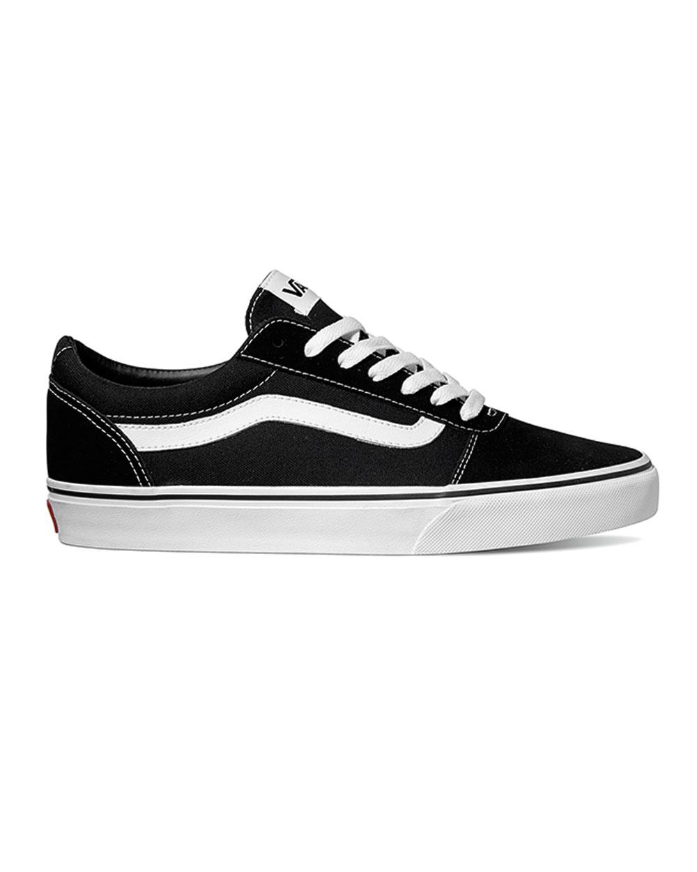 Vans Suede/Canvas Ward (black/white