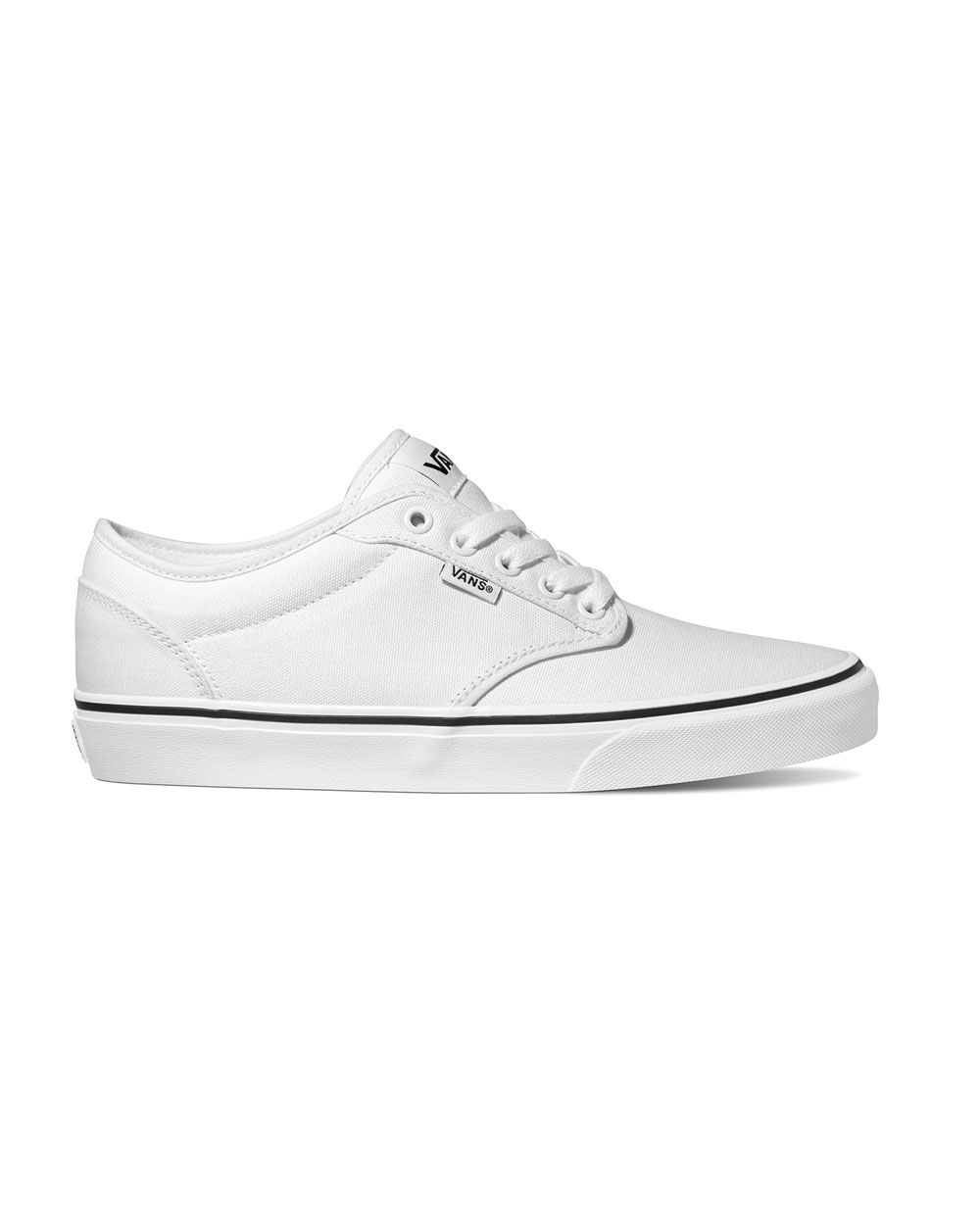 Vans Atwood Black Foxing (white/white)