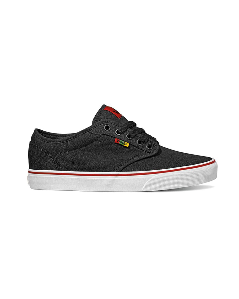 Vans Atwood Rasta (black/red)