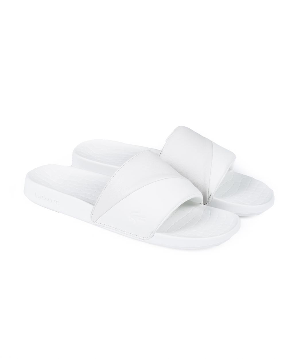 2dfaaa3fd Lacoste Fraisier 118 3 Flip Flops (white white)