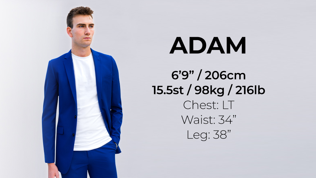 Tall Mens Clothing for a 6'9