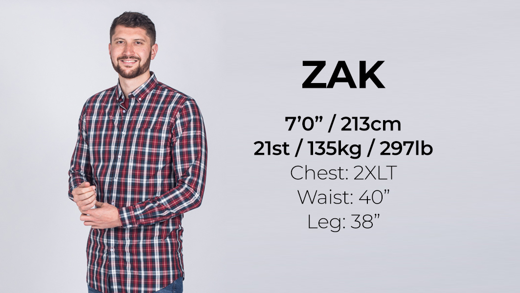 Extra Long Clothing for Tall Men