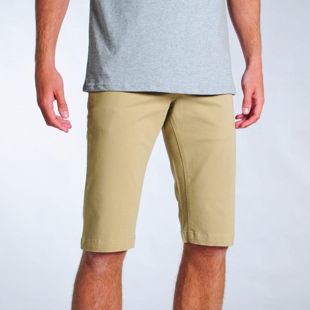 2t Stretch Chino Shorts (stone)