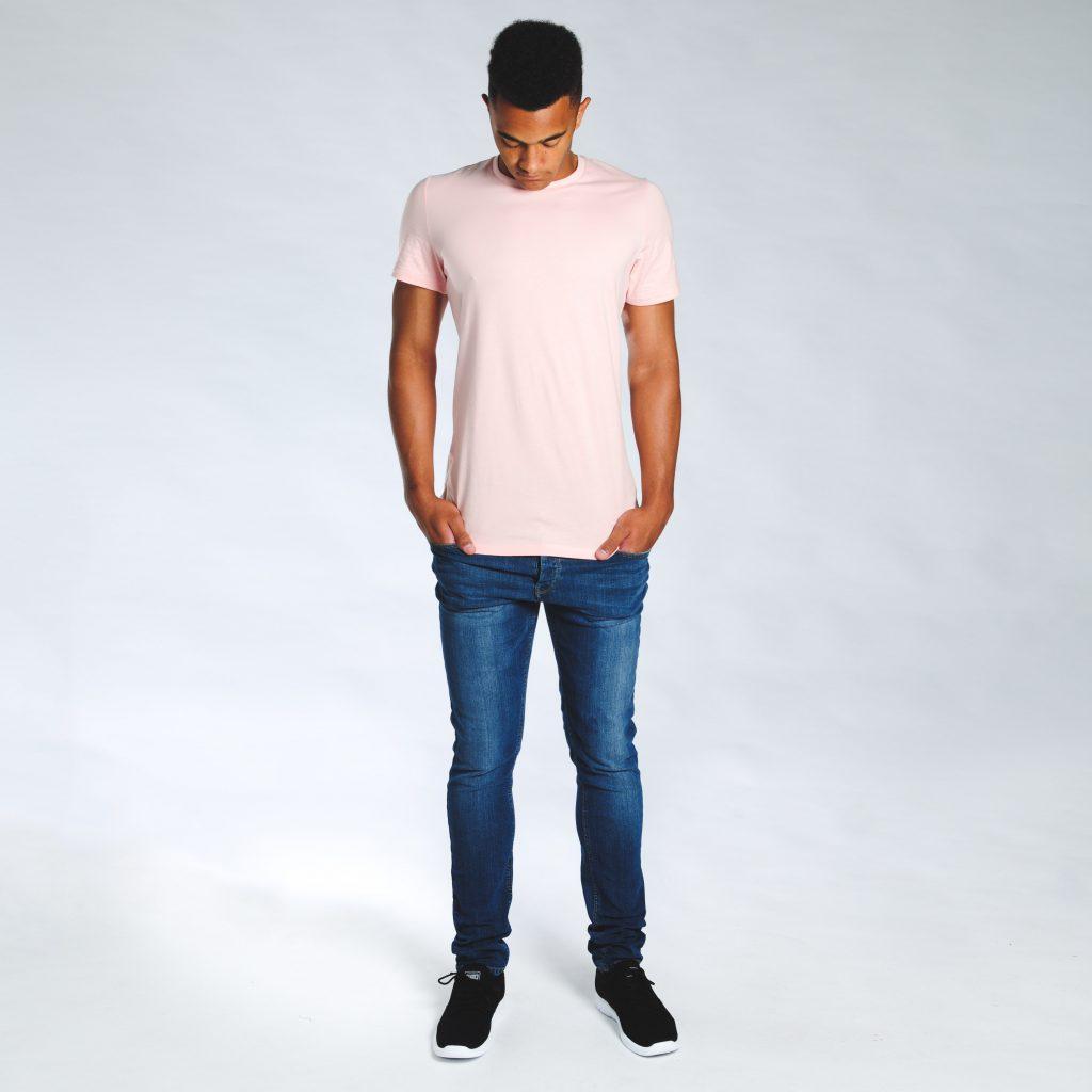 2t Tall T-Shirt (pink)
