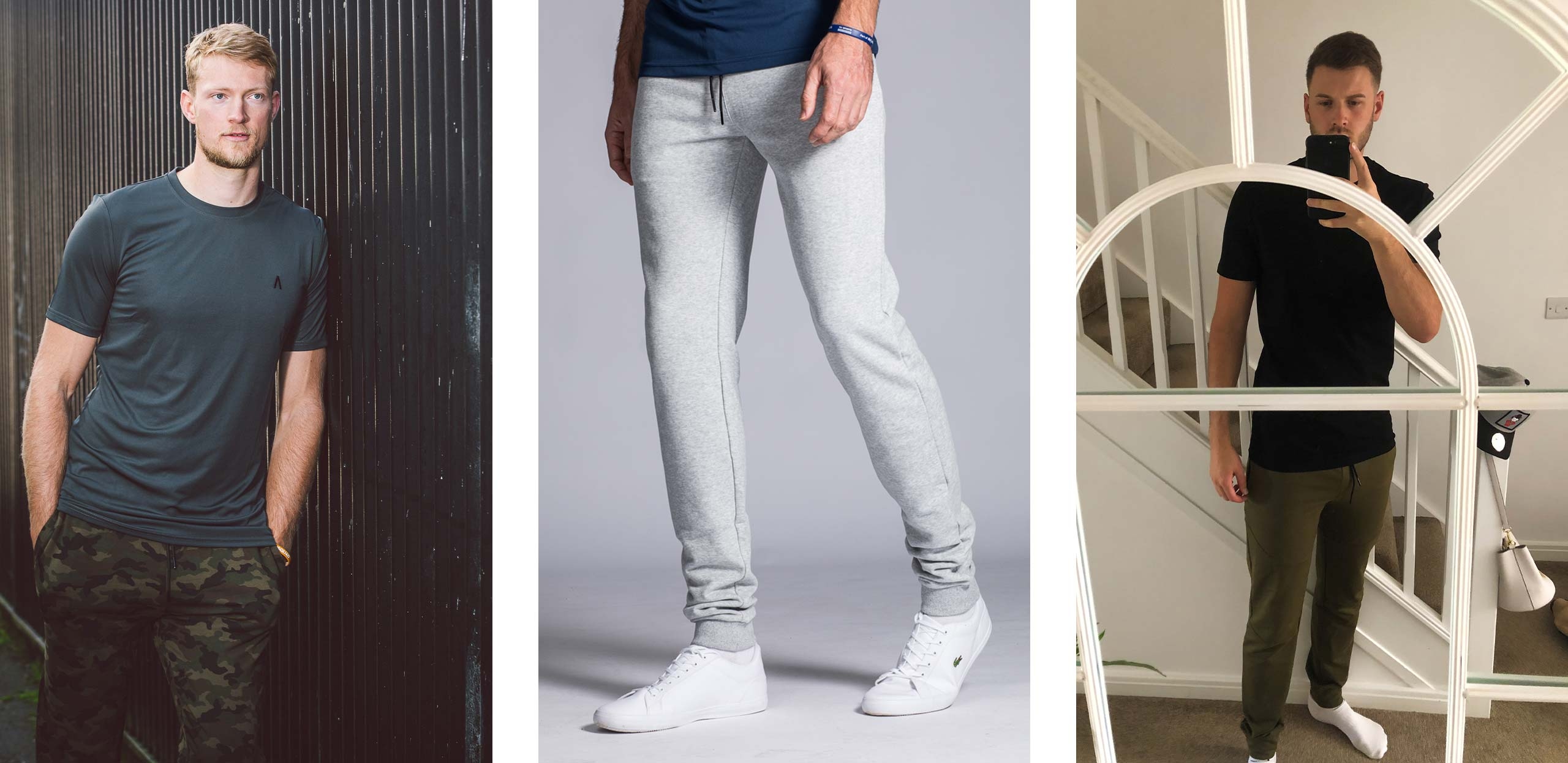 Available in either 36 or 38 inch inside leg lengths, our joggers for tall men make for the ideal gift this Christmas.